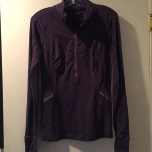 Lulelemon lightweight jacket/top - purple